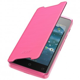 Etui Acer liquid Z200 Folio rose origine