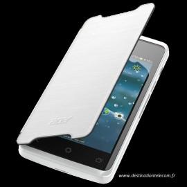Etui Acer liquid Z200 Folio blanc origine