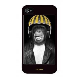Coque Logicom E350 Monkey casque jaune