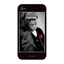 Coque Logicom E350 Monkey fleur rouge