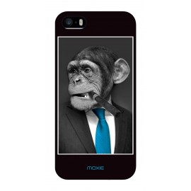 Coque Logicom E350 Monkey cravate bleue