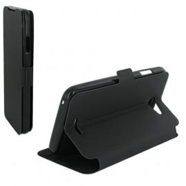 Etui HTC Desire 816 Book case stand noir