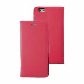 Etui iphone 6 plus / 6s plus folio rose stand case