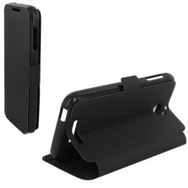 Etui HTC Desire 510 Book case stand noir