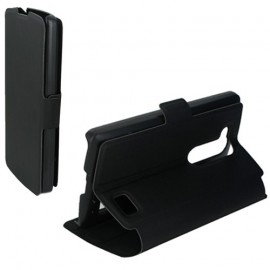 Etui LG L Fino D290 folio Noir stand