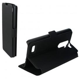 Etui LG L Bello L80 folio Noir stand
