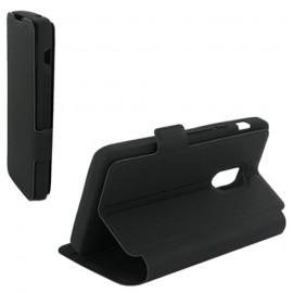 Etui Acer Liquid E700 folio stand noir