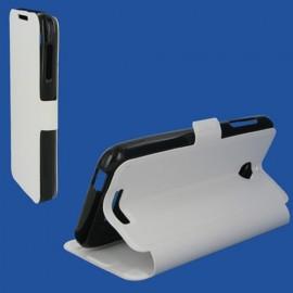 Etui HTC Desire Eye Book case stand Blanc