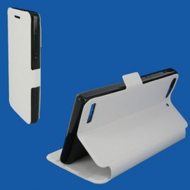 Etui Huawei G6 4G Folio Blanc Synthétique