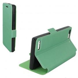 Etui Huawei G6 4G Folio vert Synthétique