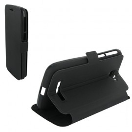 Etui Alcatel one touch pop c7 7040 stand noir
