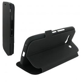 Etui Alcatel one touch pop c9 7047d stand noir