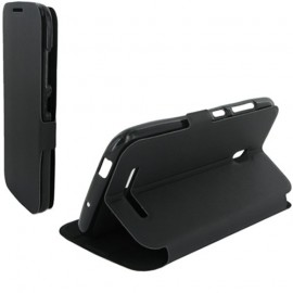 Etui Alcatel one touch pop s9 Stand noir