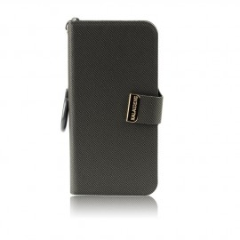 Etui iPhone 4/4S Folio Kalaideng gris
