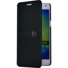 Etui Samsung Galaxy A5 A500 Façonnable Folio noir
