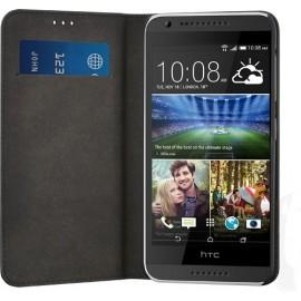 Etui HTC Desire 620 folio Simili cuir noir