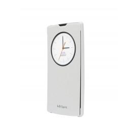 Etui LG Spirit Quick Window Circle LG C70 Blanc CCF-590