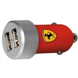 Chargeur Apple rouge 2A Ferrari
