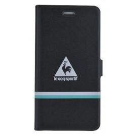 Etui iphone 6/6s Coq Sportif réversible noir et turquoise