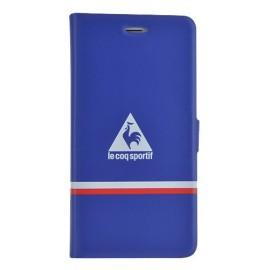 Etui iphone 6/6s Coq Sportif réversible rouge et bleu folio