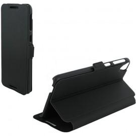 Etui HTC Desire 820 Book case stand noir
