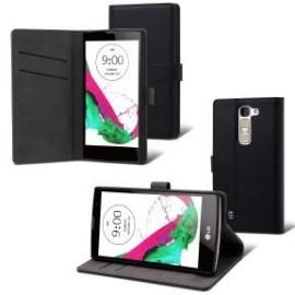 Etui LG G4C Folio slim noir Muvit