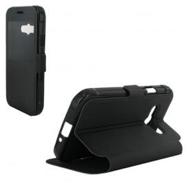 Etui Huawei P8 lite Folio vision noir