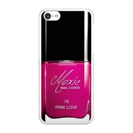 Coque iphone 6/6s vernis rose