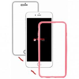 Coque iphone 5 / 5S / SE intégrale rose