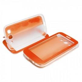 Etui iphone 6 plus / 6s plus folio vision orange