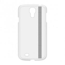 Coque Samsung Galaxy S4 I9500 Swarovski blanche rivière de strass