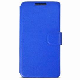 Etui HTC Desire 626 folio bleu