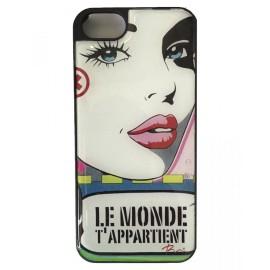 Coque iphone 6/6s Le Monde T'appartient Anne de Renzis