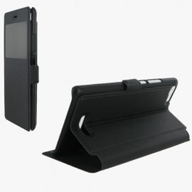 ETUI WIKO FEVER STAND VISION NOIR