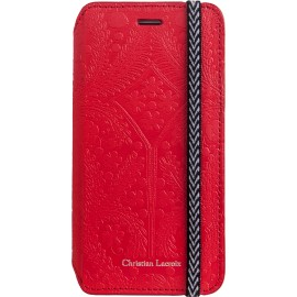 Etui iphone 6 / 6s Folio Paseo de Christian Lacroix rouge