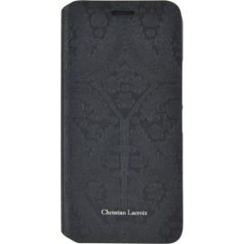 Etui HTC One M9 Folio Paseo de Christian Lacroix jais