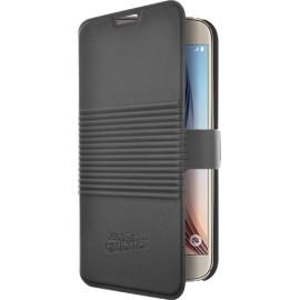 Etui Samsung Galaxy S6 folio Jean Paul Gaultier boite de conserve noir