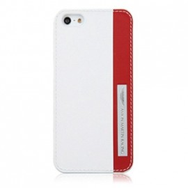 Coque iphone 5 / 5s / SE Aston Martin Racing Blanche rouge
