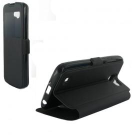 Etui folio LG K4 vision noir
