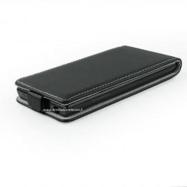 Etui LG K10 flip noir