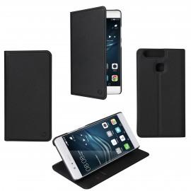 Etui Huawei P9 folio Muvit stand noir