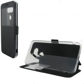 Etui LG G5 folio noir vision