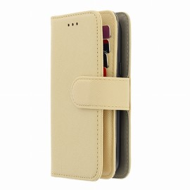 ETUI TAILLE S+ POUR MOBILE 66 X 130 MM PORTEFEUILLE UNIVERSEL BEIGE