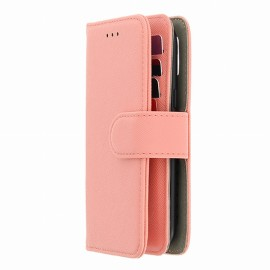 ETUI TAILLE M POUR MOBILE 70 X 135 MM PORTEFEUILLE UNIVERSEL ROSE