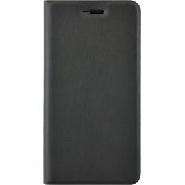 Etui Huawei Honor 7 folio noir simili cuir