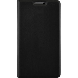 Etui folio LG K4 noir simili cuir