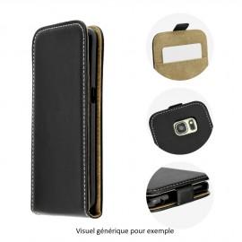 Etui Huawei Honor 7 flip noir