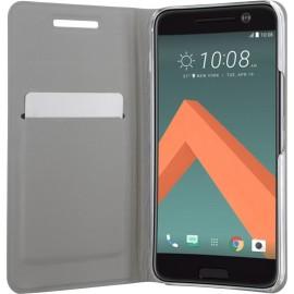 Etui HTC 10 folio noir simili cuir
