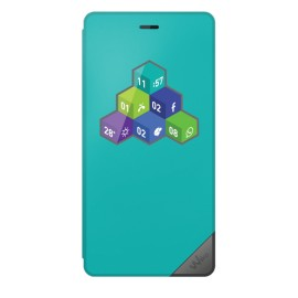 Etui Wiko Tommy Wicube turquoise origine