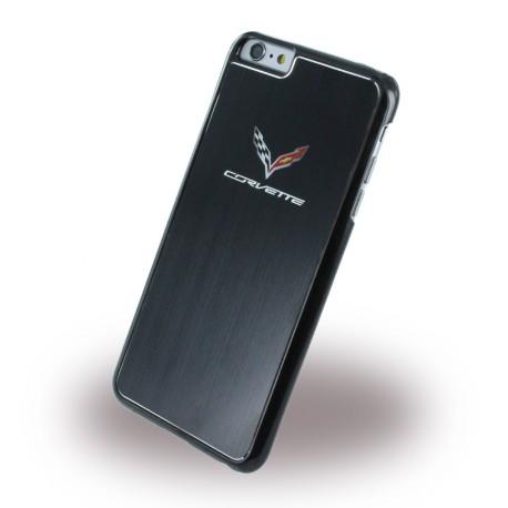Coque iphone 6 / 6s Corvette aspect Métal noire